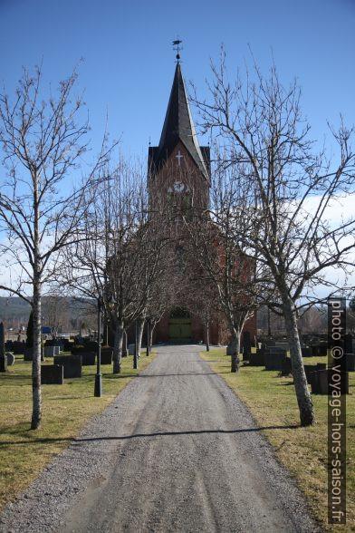 Eglise d'Ullern de Sør-Odal. Photo © Alex Medwedeff