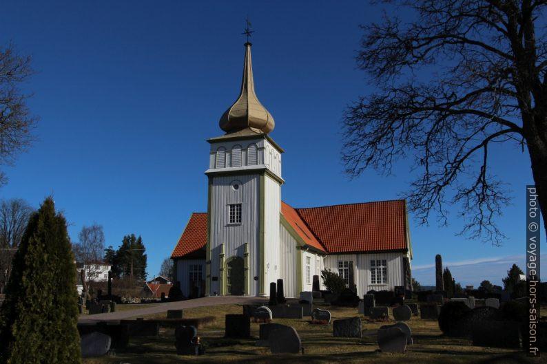 Église blanche de Kongsvinger. Photo © André M. Winter