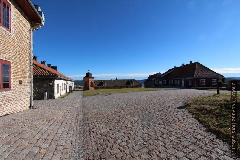 Cour de la forteresse de Kongsvinger. Photo © André M. Winter
