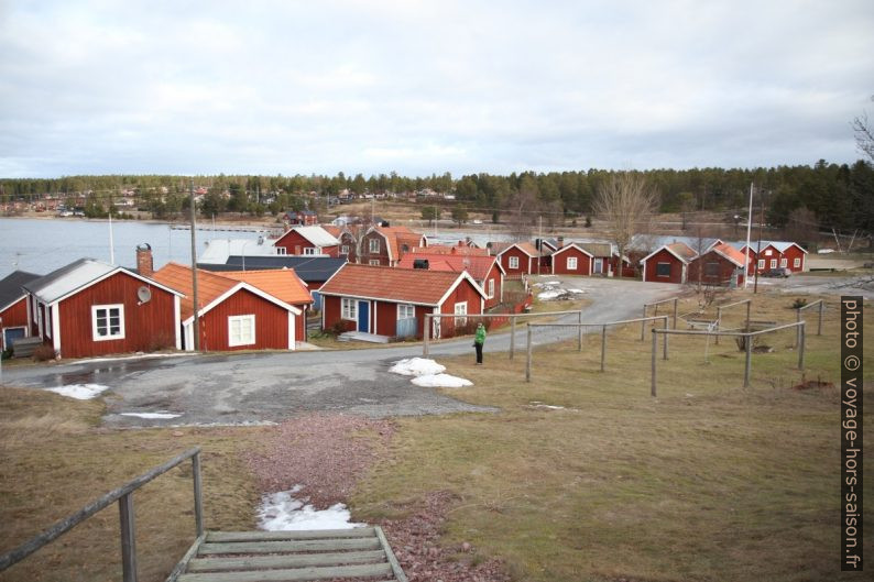 Village de pêcheurs de Norrfällsviken. Photo © Alex Medwedeff