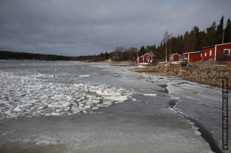 Kallviken en hiver. Photo © Alex Medwedeff