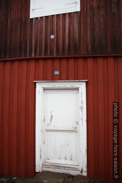 Maison à deux niveaux à Gammelstad. Photo © André M. Winter