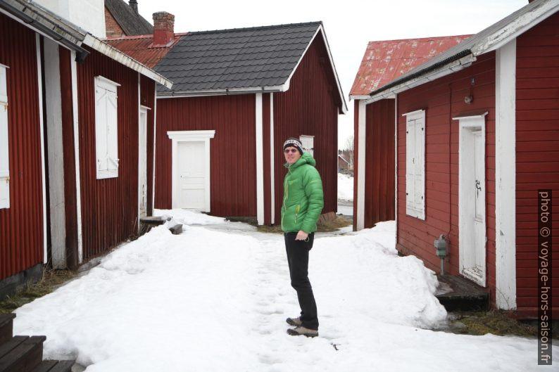 André à Gammelstad. Photo © Alex Medwedeff