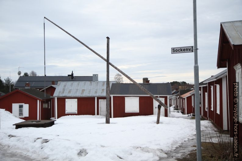 Puits de Gammelstad. Photo © André M. Winter