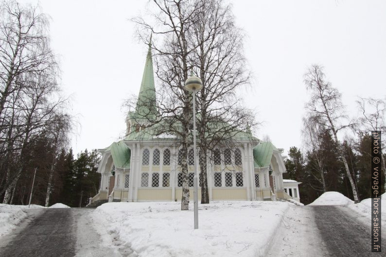 L'église de Jokkmokk. Photo © André M. Winter