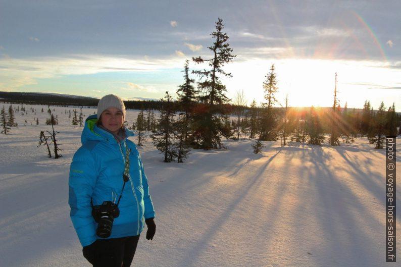 Alex dans la région d'Avvakko. Photo © André M. Winter