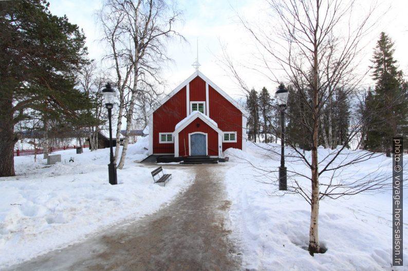 Église de Jukkasjärvi. Photo © André M. Winter