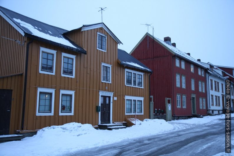 Maisons à Tromsø. Photo © Alex Medwedeff