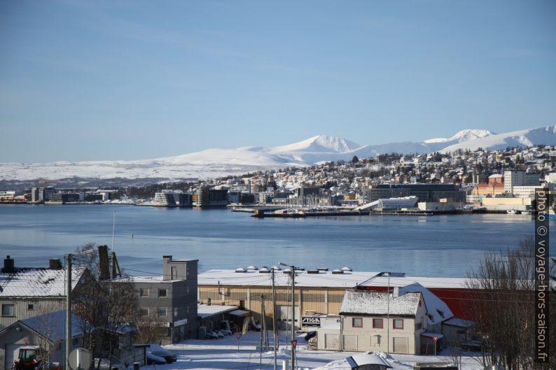 Partie sud de l'île de Tromsø. Photo © Alex Medwedeff