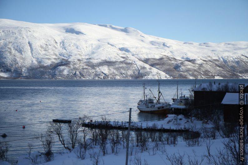Petit port de pêche de Blåmannsvika. Photo © Alex Medwedeff