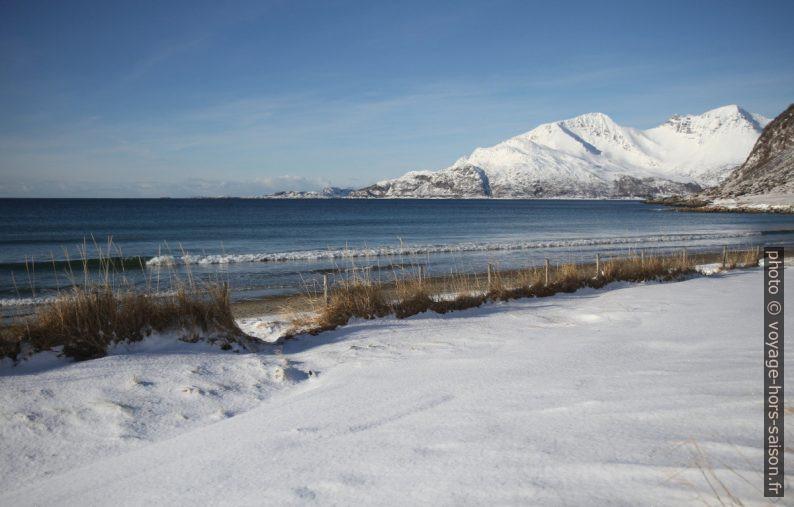 Le front de mer de Grøtfjord. Photo © Alex Medwedeff