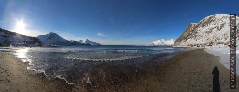 Plage de Grøtfjord. Photo © André M. Winter