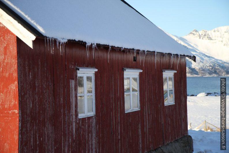 Maison de pêche de Tromvik. Photo © Alex Medwedeff