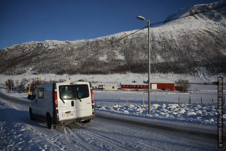 Notre Trafic à Tromvik. Photo © Alex Medwedeff