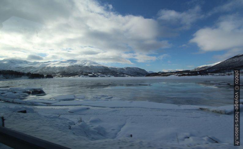 Ramfjorden au sud de Tromsø. Photo © André M. Winter