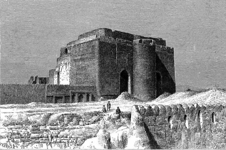 Forteresse de Tauris au 19e siècle
