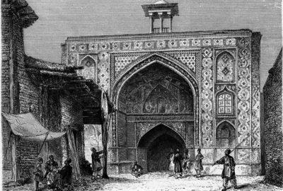 Sar-dar du Anbar de Hadj Kazem à Kazbin (Qazvin)