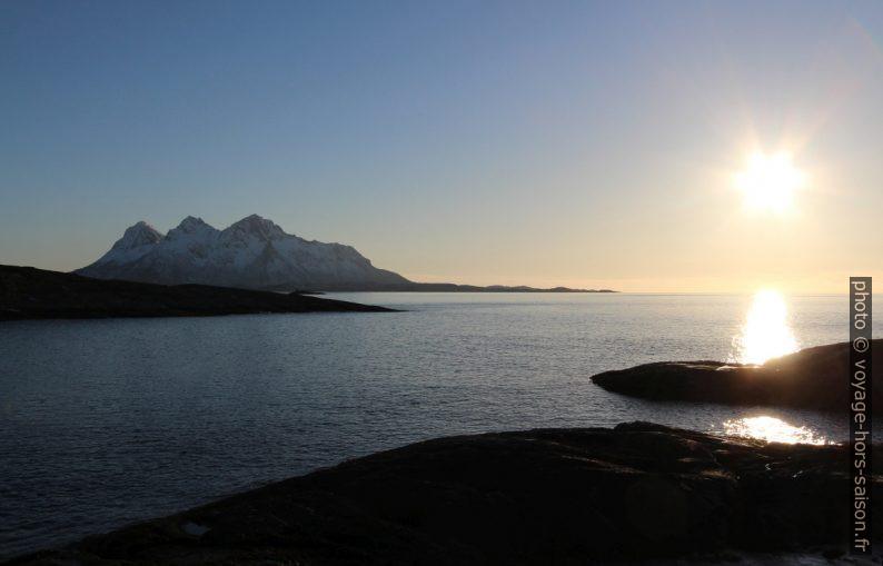 Massif montagneux de Hamarøya