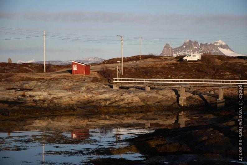 Notre Trafic et le début de la passerelle de Tranøy