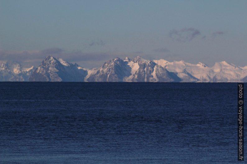 La partie centrale des Îles Lofoten