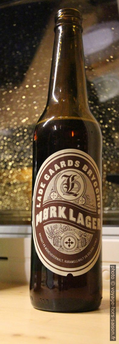 Bière Lade Gaards Brygghus Mørk Lager. Photo © André M. Winter