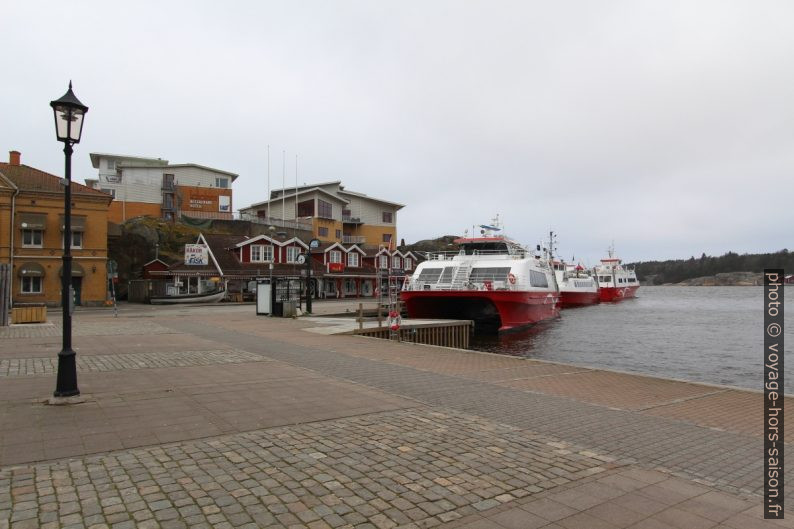 Ferrys à Strömstad. Photo © André M. Winter