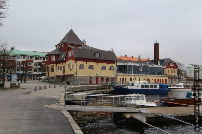Badhus de Strömstad. Photo © André M. Winter