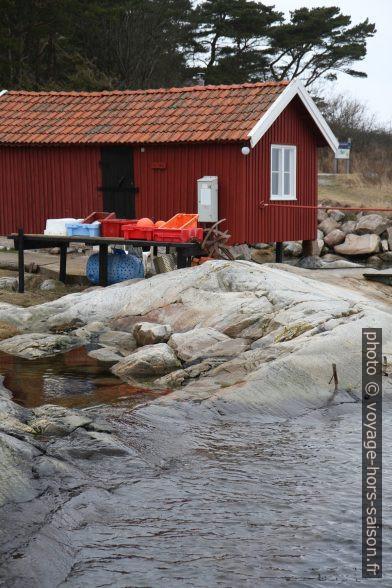 Maison de pêche à Västra Bryggan. Photo © Alex Medwedeff