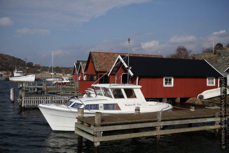 Maisons de pêcheurs de Hamburgsund. Photo © Alex Medwedeff