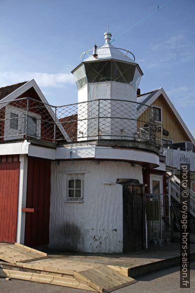 Faux phare à Hamburgsund. Photo © Alex Medwedeff