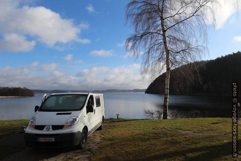 Notre Trafic au bord du Havstensfjorden. Photo © André M. Winter