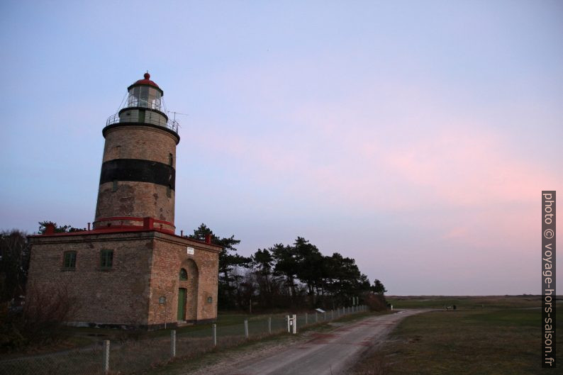Phare de Falsterbo le soir. Photo © Alex Medwedeff