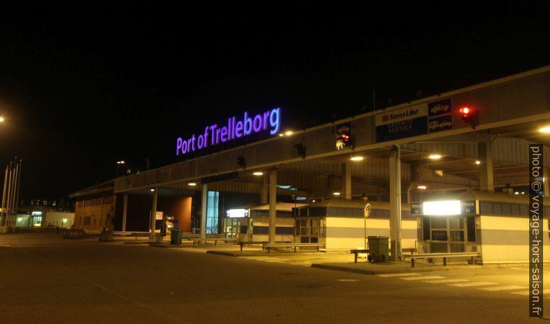 Entrée du Port de Trelleborg. Photo © André M. Winter