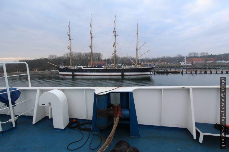 Voilier quatre-mâts barque Passat. Photo © André M. Winter