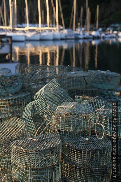 Cages à crabes. Photo © Alex Medwedeff