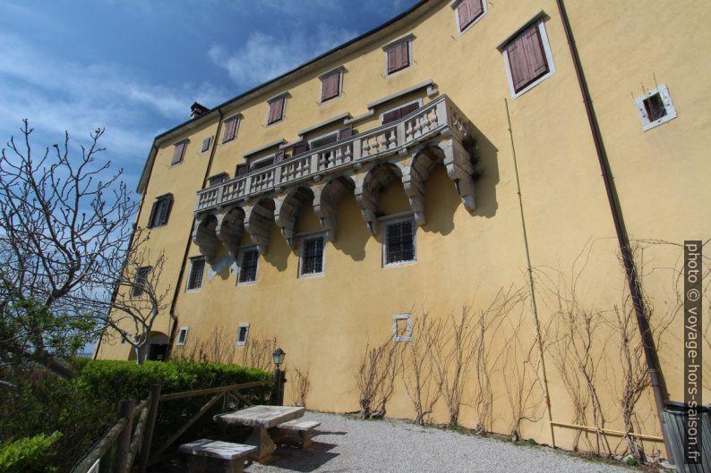 Façade sud du Castello di Duino. Photo © André M. Winter