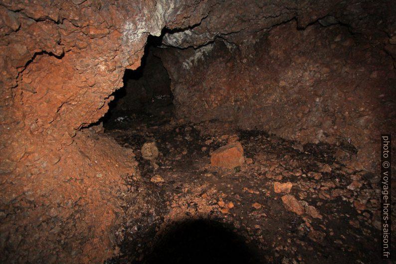 Cavité n° 252 dans la Dolina del Principe. Photo © André M. Winter