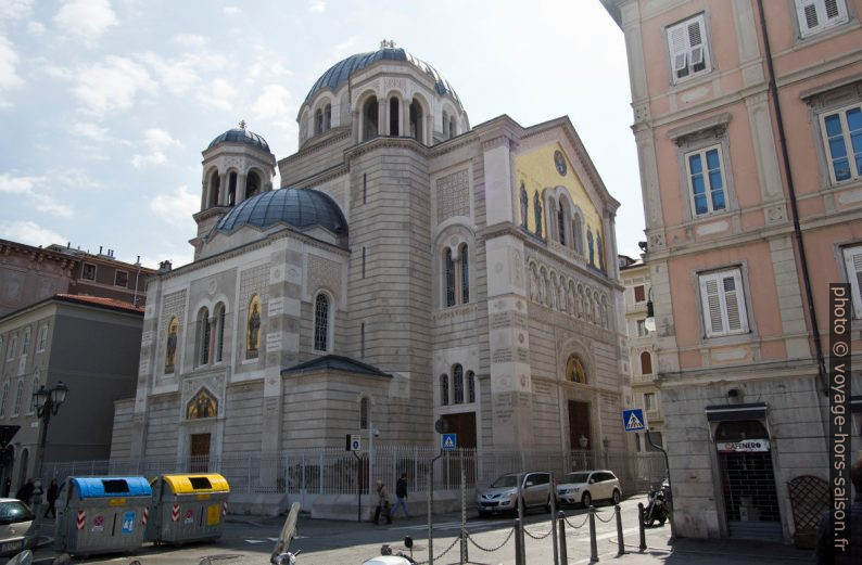 L'Église orthodoxe serbe Trinità e San Spiridione. Photo © André M. Winter