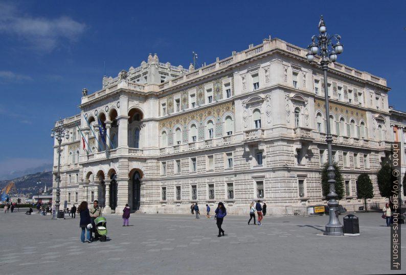 Palazzo della Luogotenenza austriaca. Photo © André M. Winter