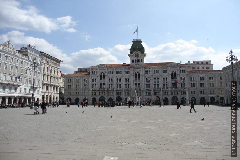 Palazzo del Comune di Trieste. Photo © Alex Medwedeff