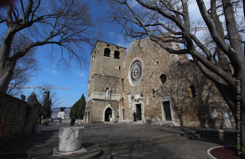 Cathédrale San Giusto à Trieste. Photo © André M. Winter