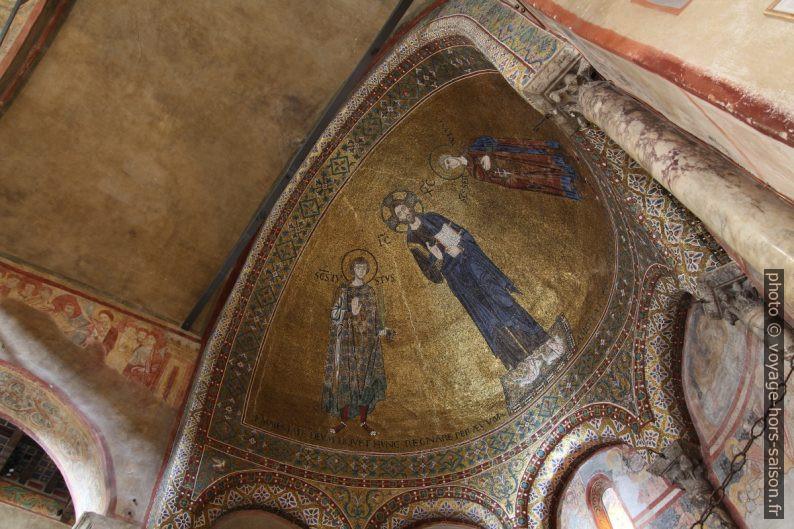 Abside de la Chapelle de San Giusto. Photo © André M. Winter