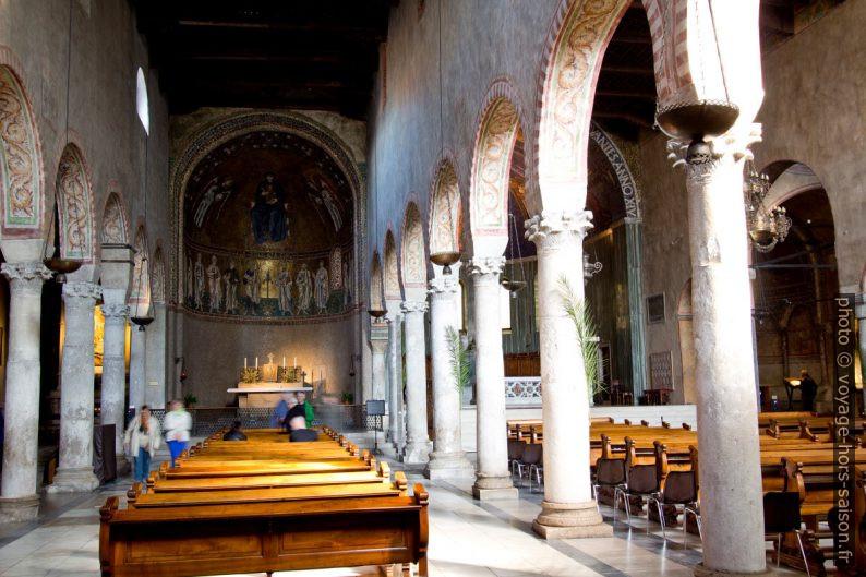 L'altare dell'Altissimo nella Cattedrale di San Giusto. Photo © André M. Winter