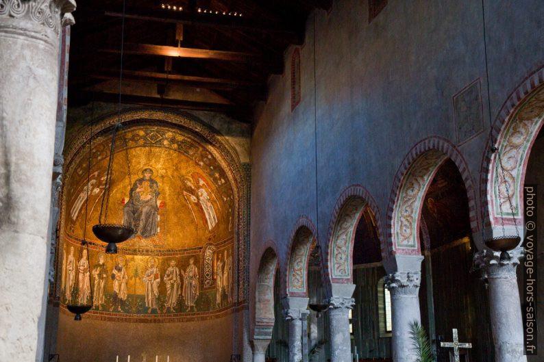 Chapelle de la Vierge Marie dans la Cathédrale de Trieste. Photo © Alex Medwedeff