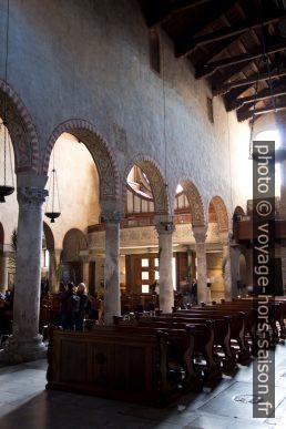 Collatéral de l'ancienne église de la Vierge Marie dans la Cattedrale di San Giusto. Photo © André M. Winter