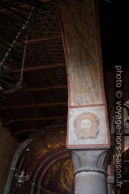 Représentation sévère de Jésus dans la cathédrale de Trieste. Photo © André M. Winter