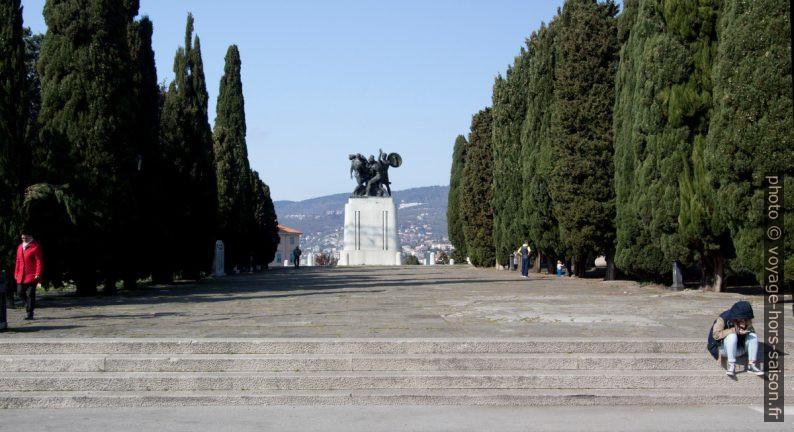 Ancien forum romain de Trieste. Photo © André M. Winter