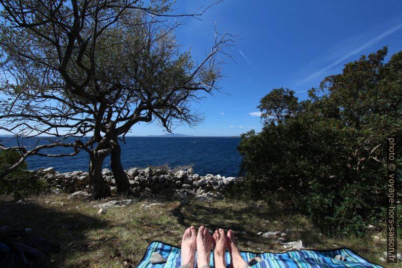 Pause à la Punta Vadikandija. Photo © André M. Winter
