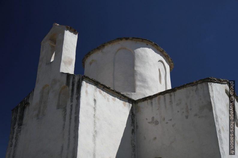 Clocher-mur et coupole de l'église Crkva Sv. Križa. Photo © Alex Medwedeff