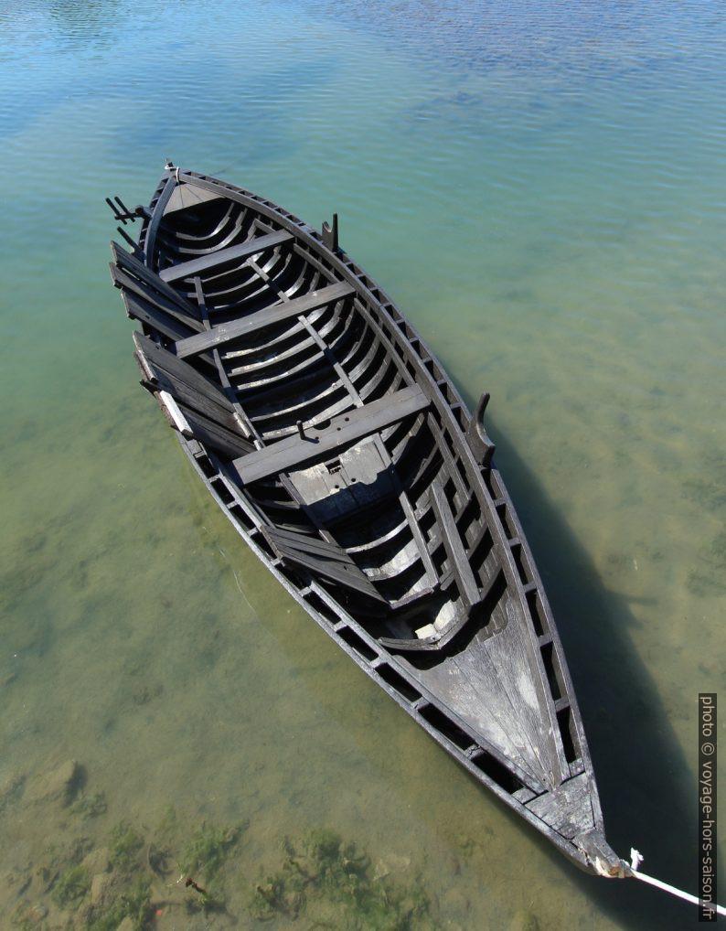 Réplique Condura Croatica d'un ancien bateau croate. Photo © André M. Winter